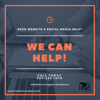 NEED A WEBSITE & SOCIAL MEDIA HELP-