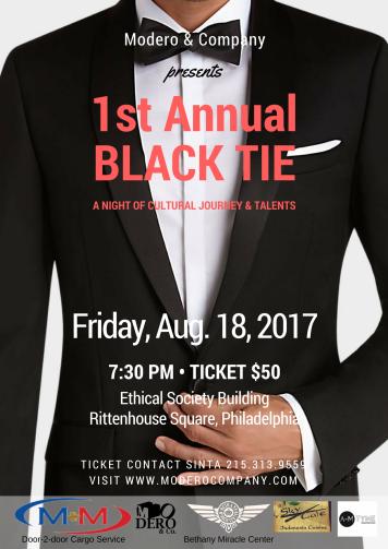 Modero & Company Black Tie (1)